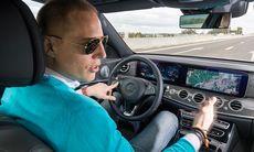 """Mercedes E-klass provkörd: """"Självkörande systemet imponerar"""""""