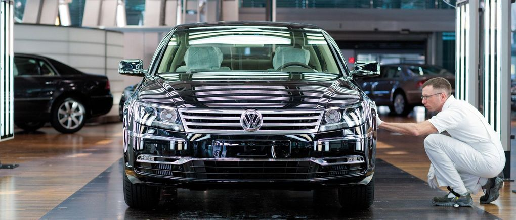 Volkswagen skrotar eldriven Phaeton – eller?