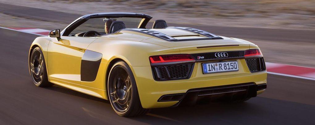 Audi R8 Spyder officiell – njut av välljudet från V10-motorn