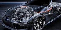"""Lexus LC 500h: Modern sporthybrid – med """"fyrstegad"""" automatlåda"""