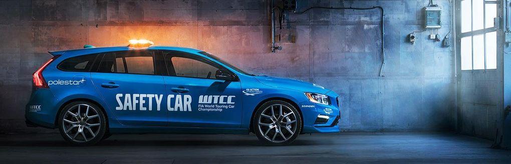 Volvo V60 Polestar blir officiell säkerhetsbil i WTCC