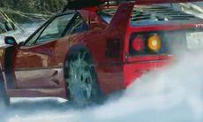 Drömmen: Att köra snörally med Ferrari F40