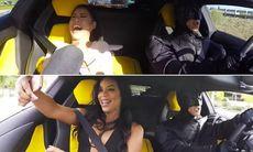 Beställer taxi  – blir hämtade av Batman i Lamborghini