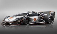 Jon Olsson skickar skiss på sitt nya Lamborghini-projekt