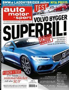 9/2016: Volvo bygger superbil