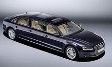 Audi A8 L Extended – förlängd till 636 cm med plats för sex