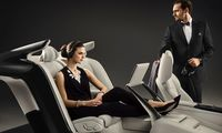 Volvo S90 Excellence är ett interiört konstverk – med tre stolar