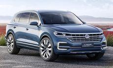 Volkswagen T-Prime GTE är en smygvisning av nya Touareg