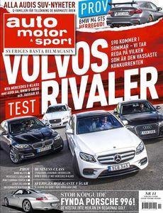 11/2016: Stort test av rivalerna till Volvo S90