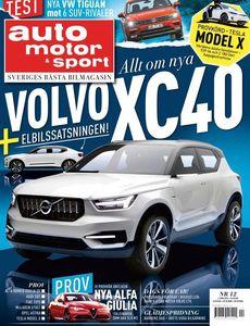 12/2016: Allt om helt nya Volvo XC40