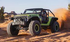 Provkörd: Jeep Trailcat med 717 hk – en jordbävning på hjul