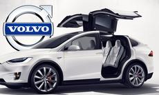 Tesla slår sig för bröstet om säkerheten i Model X – bättre än Volvo?
