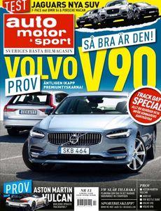 13/2016: Vi provkör nya Volvo V90 – Imponerar stort!