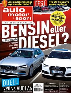 14/2016: Volvo V90 mot Audi A6 i duell – Diesel eller bensin?