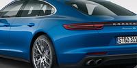 Porsche Panamera blir snålare och snyggare