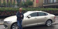 Vi har hämtat ut Volvo S90 för första testet!
