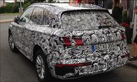Nya Audi Q5 närmar sig – spionfotograferad av ams-läsare