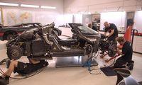 Koenigsegg One:1 kraschade på Nürburgring efter bromsfel