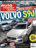16/2016: Första testet av Volvo S90 – mot fyra konkurrenter