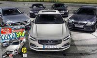 16/2016: Första testet – Så klarar sig Volvo S90 mot BMW och Mercedes