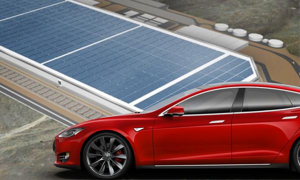 Tesla visar upp Gigafactory