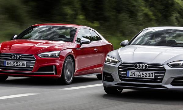 Svenska priser på nya Audi A5 och S5