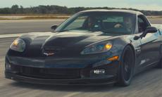 Eldriven Corvette sätter nytt hastighetsrekord: 330,8 km/h