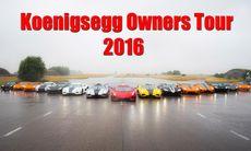 Koenigsegg samlade 16 bilägare till en unik träff – film och bilder