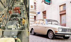 Volvo 140 fyller 50 år – visades under dramatisk polisjakt