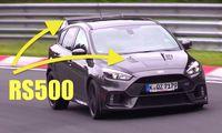 Ford Focus RS500 byggs i 500 exemplar och får 400 hk