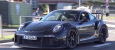 Nya 911 GT2 låter elak på Nürburgring