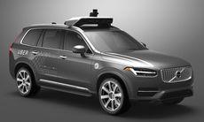 Volvo Cars och samåkningsföretaget Uber bygger bil ihop