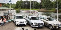 Test: Volvo XC90 T8, Audi Q7 e-tron q och BMW X5 xDrive 40e