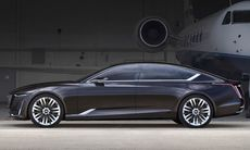 Cadillac Escala Concept visar ny lyxcoupé – siktet inställt på Audi A7?