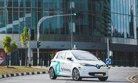 """Premiär idag: Singapore först med """"självkörande"""" taxi"""