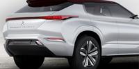 Mitsubishi GT-PHEV smygvisar nästa Outlander och klarar tolv mil på eldrift