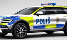 Volvo V90 Cross Country som polisbil – så skulle den kunna se ut