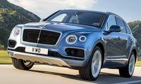 Bentley Bentayga Diesel – första med diesel-V8 och världens snabbaste