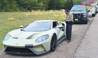 Fords testbilar stoppade av polis – körde i dubbla hastigheten