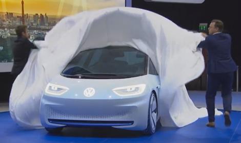 Volkswagens nya elbil heter ID – här är alla detaljer
