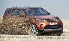 Land Rover Discovery premiärvisad – större, bättre och lättare