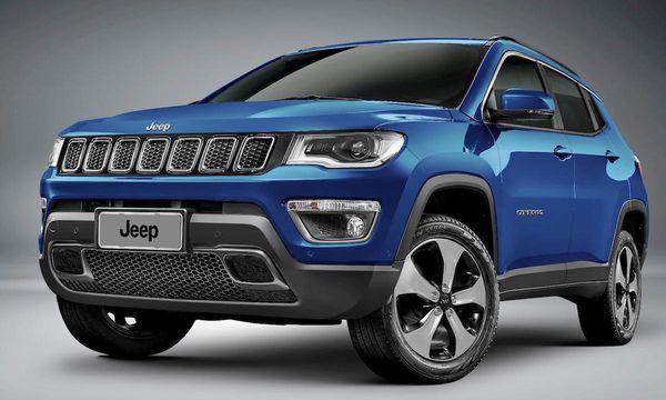 Helt nya Jeep Compass – siktar in sig på VW Tiguan