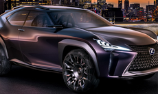 Lexus UX visar hur en kommande småsuv skulle kunna se ut