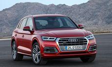 Nya Audi Q5 –med lite hjälp från storebror Q7