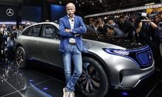 Mercedes ska köra om Tesla och bli störst på premiumelbilar