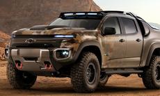 """Chevrolet Colorado ZH2 är världens mest """"bad-ass"""" vätgasbil"""
