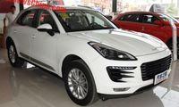 Porsche Macan fulkopierad i Kina som Zotye SR9