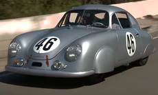Porsche 356 SL Gmünd Coupe – Porsches första tävlingsbil