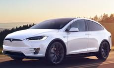 Tesla Model X 60D går i graven – tas bort i tysthet