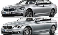 Nya och gamla BMW 5-serie: Här kan du se skillnaderna